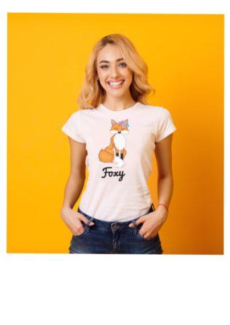 Foxy floral women shirt