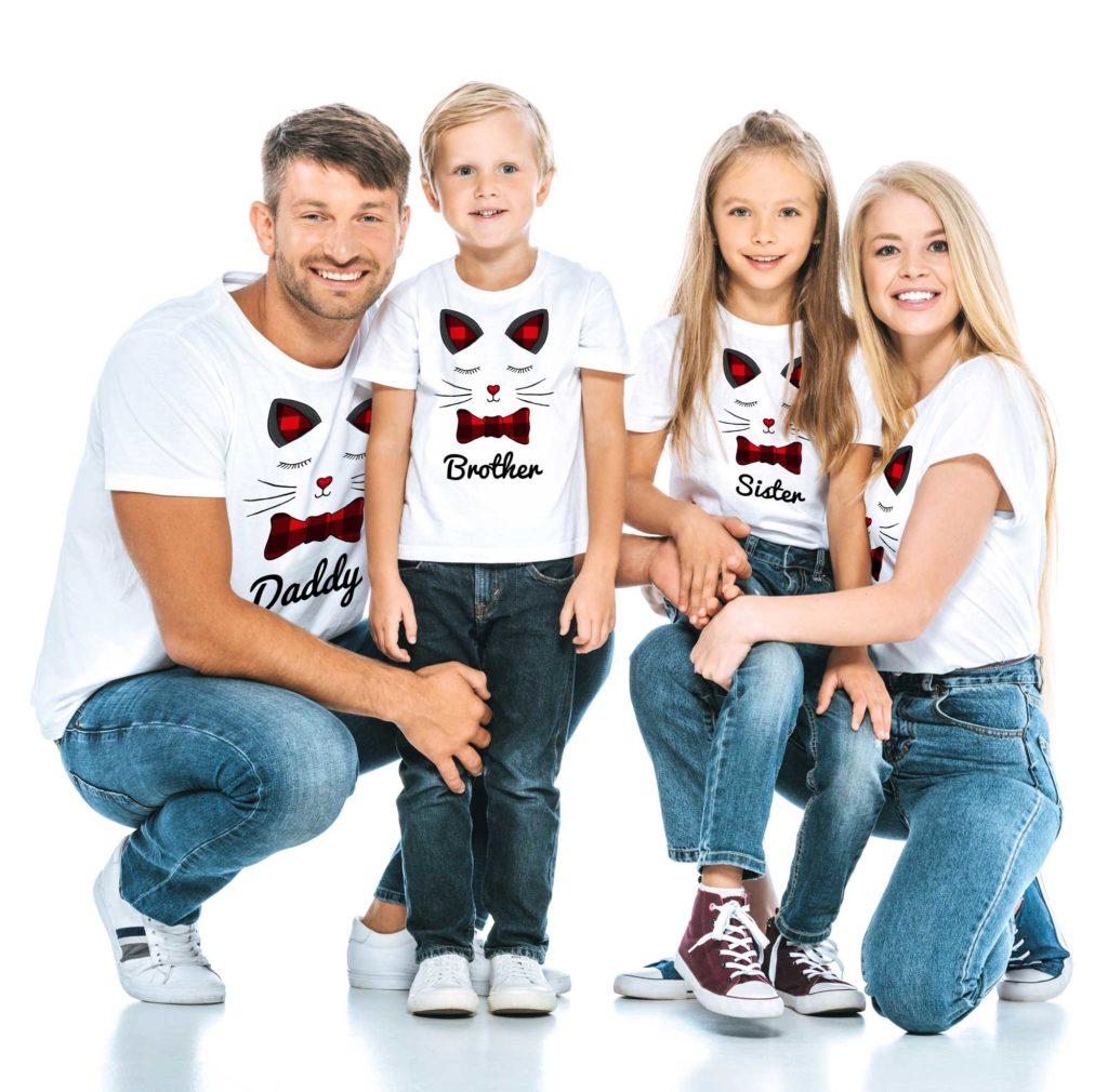 family buffalo cat shirt