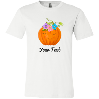Children's flower pumpkin shirts
