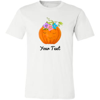 Adults flower pumpkin shirts family