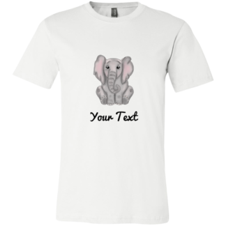 Childrens elephant birthday shirts for family