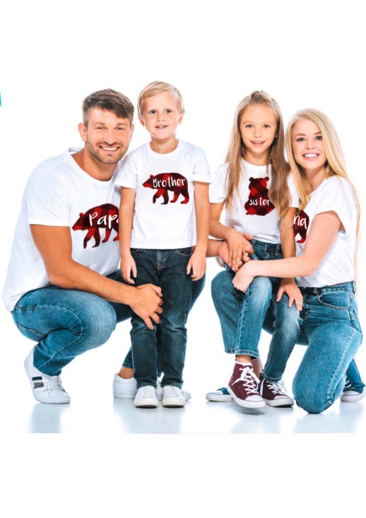 family buffalo plaid shirts