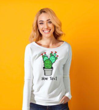 free hugs cactus shirt women