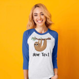 sloth shirt womens
