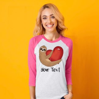Sloth Valentine shirt