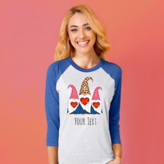 gnome Valentine shirt for women