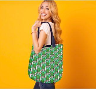 cactus print bag