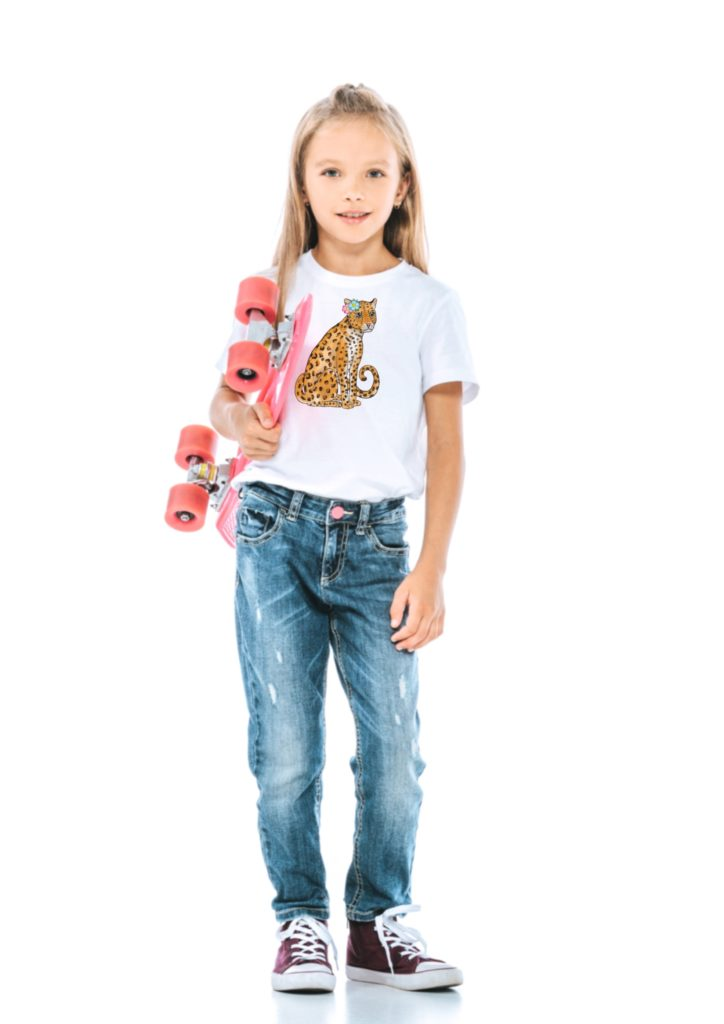 Kids leopard shirt