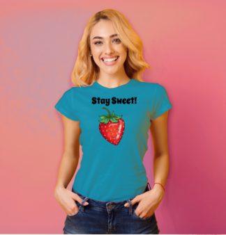 strawberry shirt womens