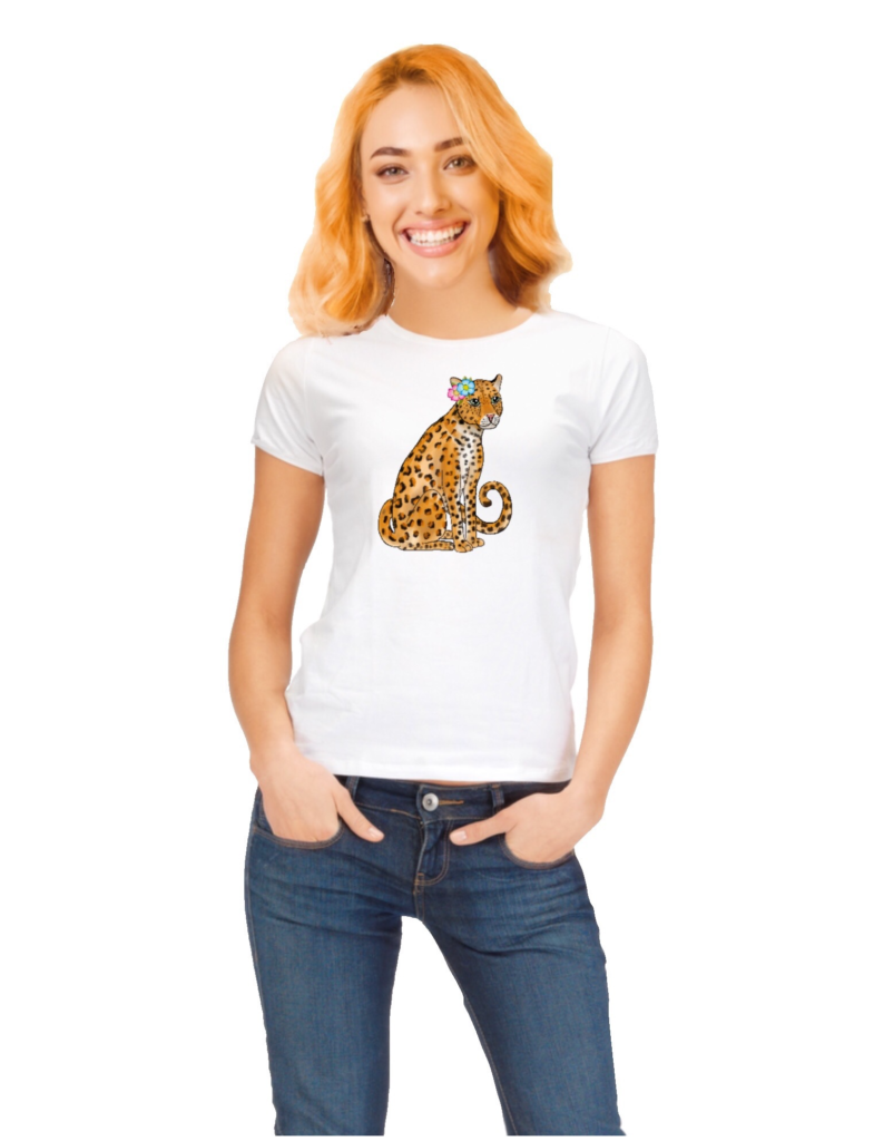 Leopard shirt women